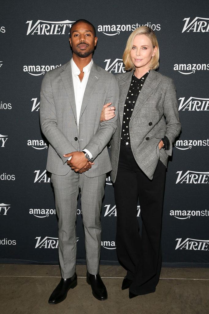 Michael B. Jordan, Charlize Theron, actors on actors, variety