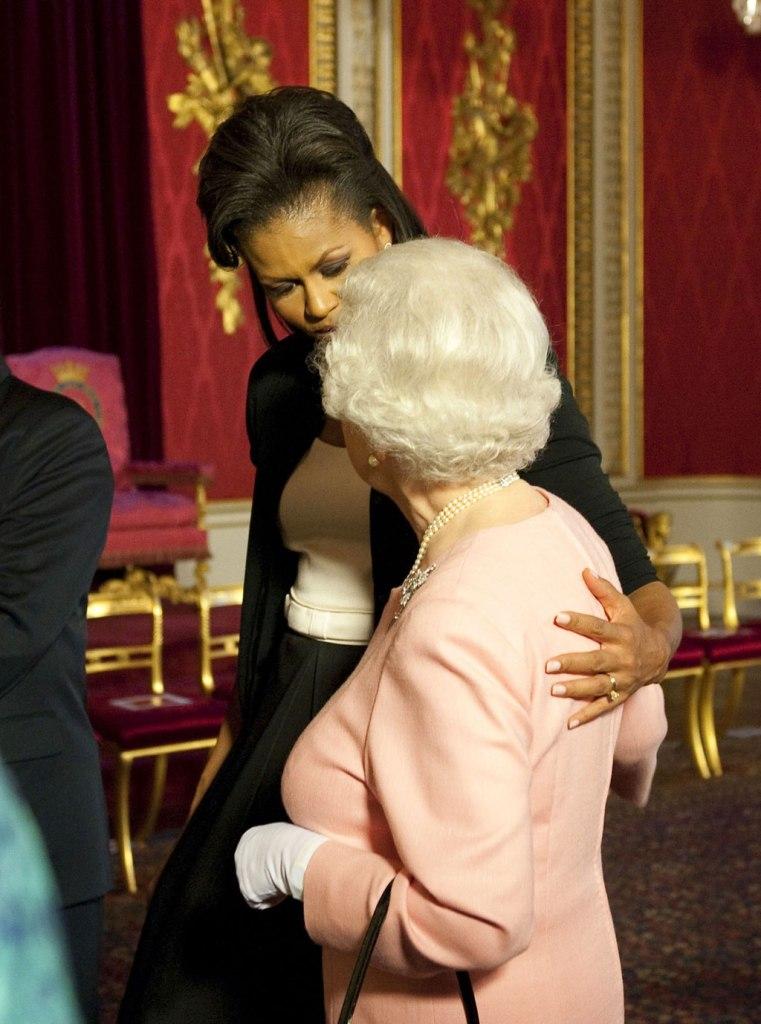 michelle obama, queen elizabeth ii,