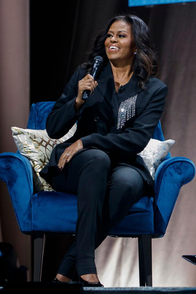 Michelle Obama, becoming, book tour, washington dc