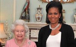 Queen Elizabeth II, Michelle Obama, Buckingham