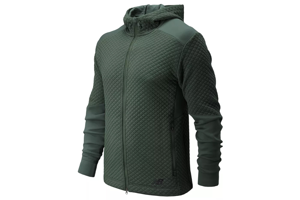 New Balance NB Heat Loft Full Zip Hoodie