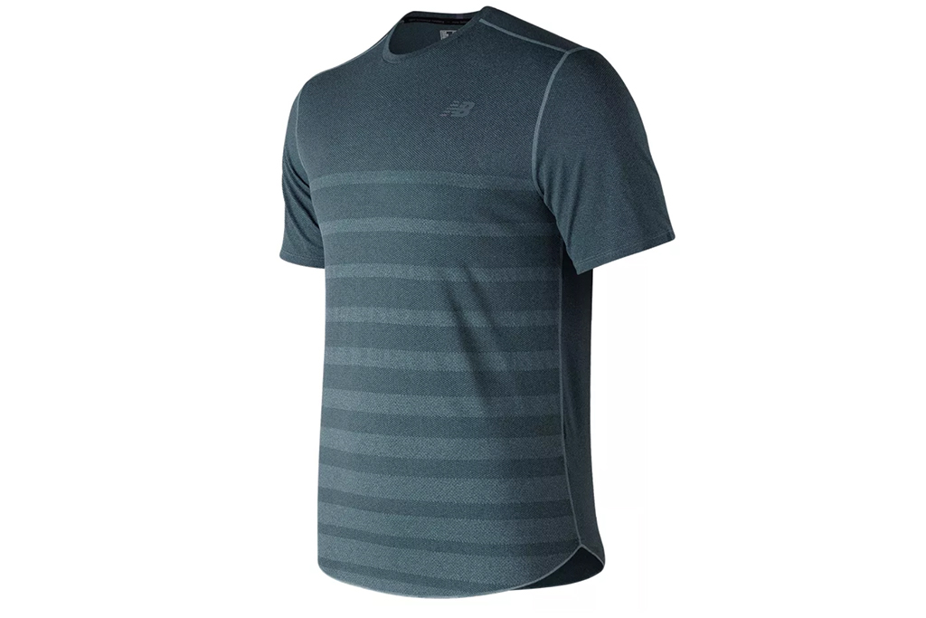 New BalanceQ Speed Jacquard Short-Sleeve T-Shirt