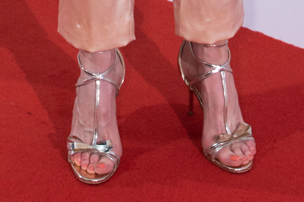 nicole kidman, sandals, red carpet, christian louboutin, feet, pedicure