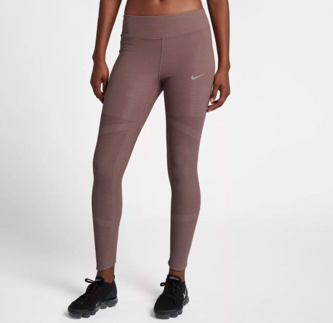 Nike Epic Luxe Mid-Rise Lace Running Tights