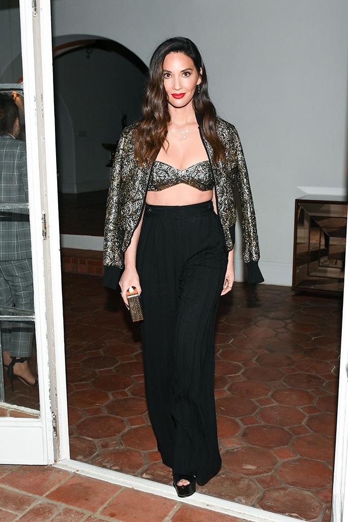 Olivia Munn Michael Kors x Kate Hudson dinner, Inside, Los Angeles, USA - 07 Nov 2018