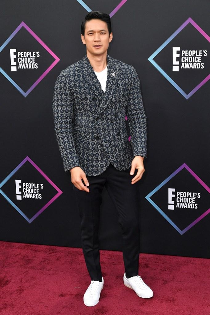 Harry Shum Jr.People's Choice Awards, Arrivals, Los Angeles, USA - 11 Nov 2018