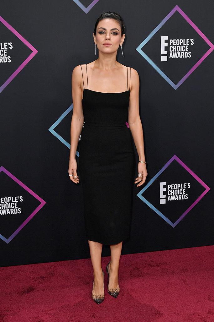 Mila KunisPeople's Choice Awards, Arrivals, Los Angeles, USA - 11 Nov 2018