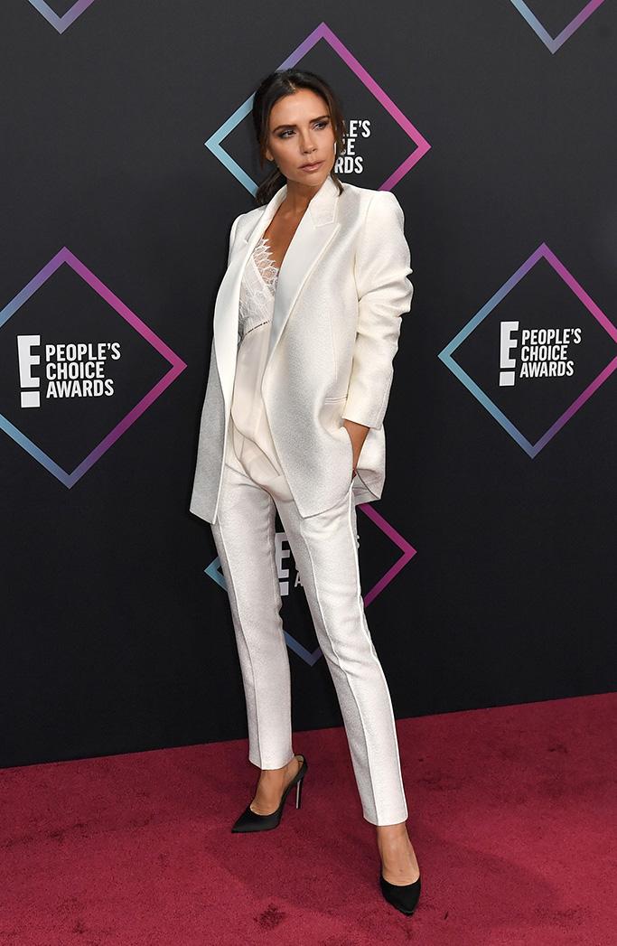 Victoria BeckhamPeople's Choice Awards, Arrivals, Los Angeles, USA - 11 Nov 2018