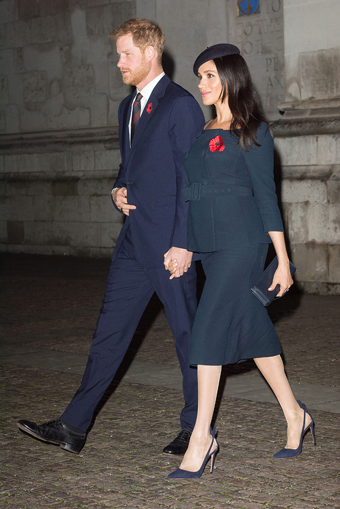 Prince Harry and Meghan Duchess of SussexNational Service to mark the Centenary of the Armistice, Westminster Abbey, London, UK - 11 Nov 2018