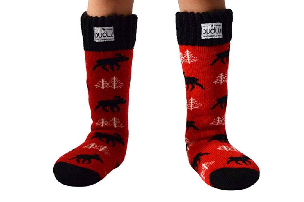 Pudus kids winter sock boot