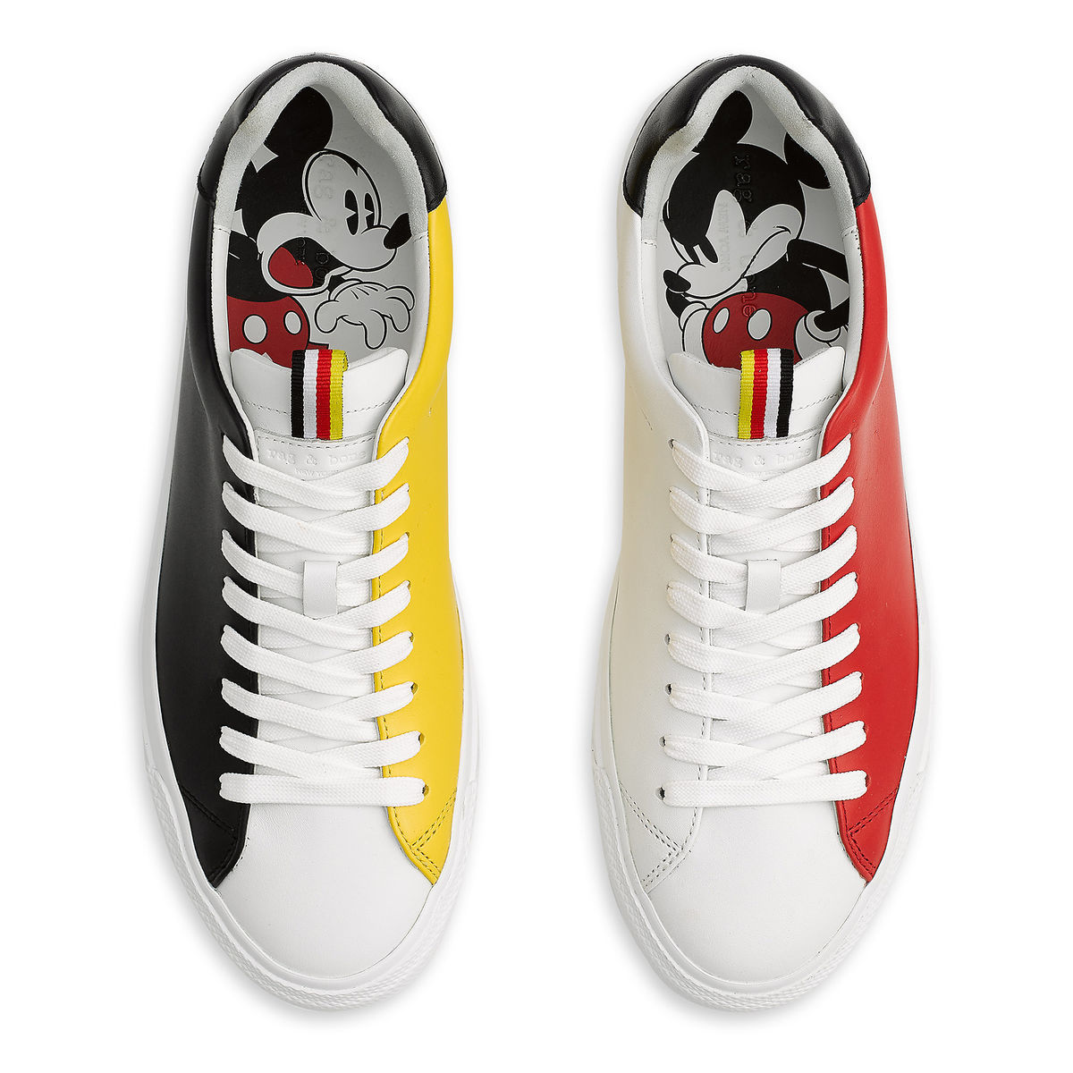 Mickey Mouse Shoes to Celebrate His