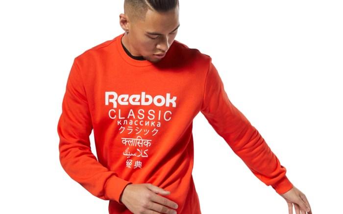 Reebok Classics Unisex Fleece Crew International