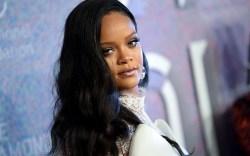 Rihanna attends the 4th annual Diamond