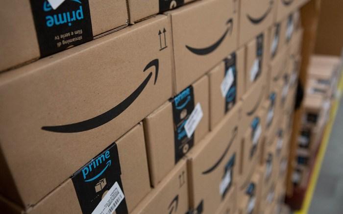Amazon Warehouse Amazon fulfilment Centre, Hemel Hempstead, UK - 14 Nov 2018