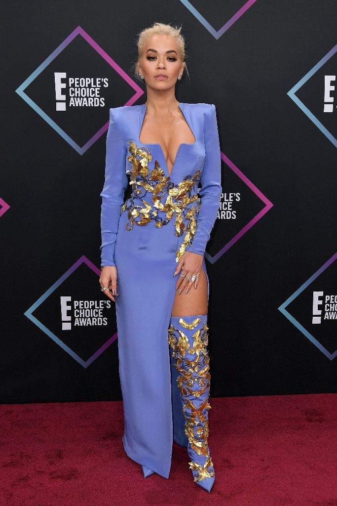 Rita Ora People's Choice Awards, Arrivals, Los Angeles, USA - 11 Nov 2018