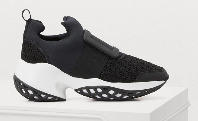 Viv 'Run Rubber Buckle Sneaker