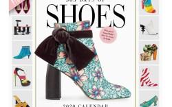 2019 shoe calendar, gifts for shoe