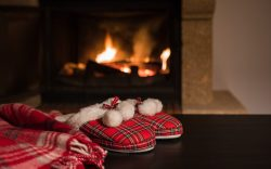Hygge, slippers
