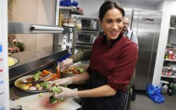 Meghan Duchess of Sussex visits the