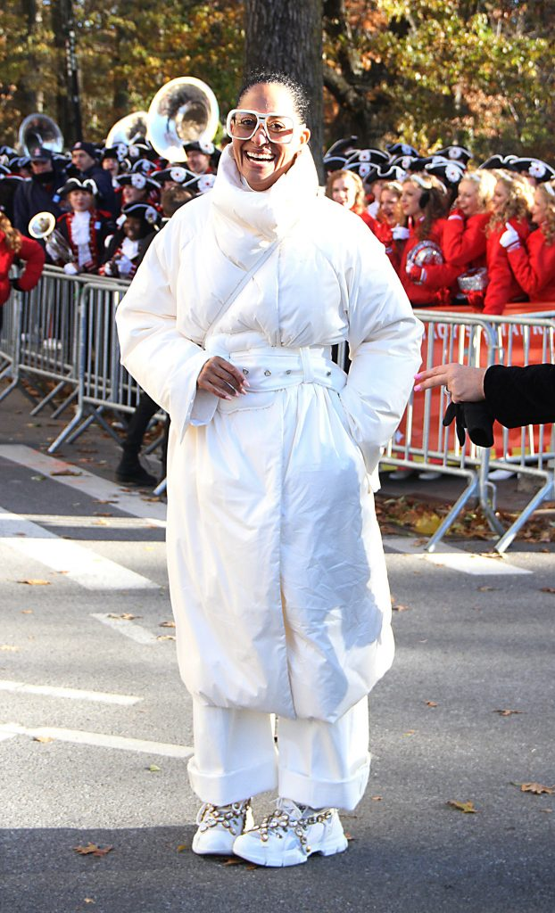 Tracee Ellis Ross, Macy's Thanksgiving Day Parade, New York, USA - 22 Nov 2018