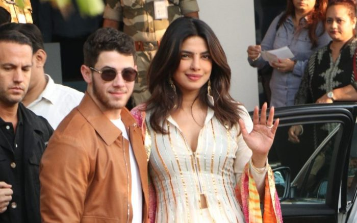 Priyanka Chopra And Nick Jonas Arrive Ahead Of Wedding Via Private Jet