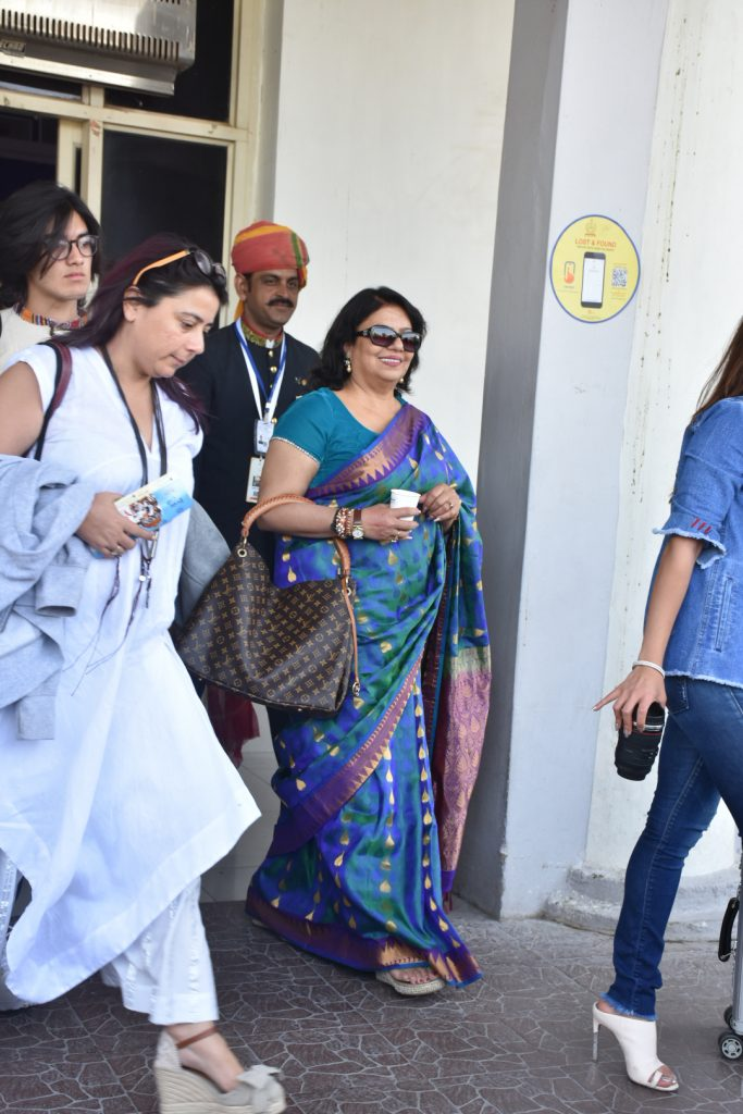 Priyanka Chopra's Mother, Madhu Chopra, Arrives In Mumbai Ahead Of Daughter's Wedding To Nick JonasPictured: Madhu ChopraRef: SPL5045389 291118 NON-EXCLUSIVEPicture by: Viral Bhayani / SplashNews.comSplash News and PicturesLos Angeles: 310-821-2666New York: 212-619-2666London: 0207 644 7656Milan: 02 4399 8577photodesk@splashnews.comWorld Rights