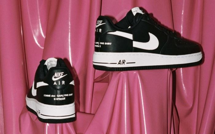 Supreme x Comme des Garcon Shirt x Nike Air Force 1 Low