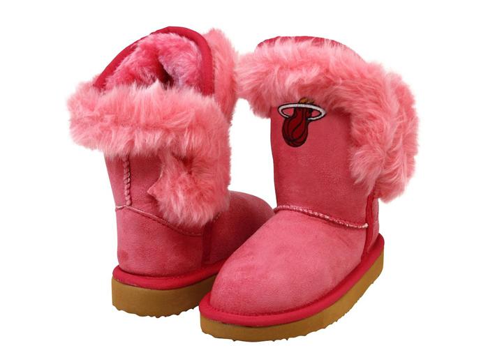 Cuce Miami Heat Toddler Girls Mini-Me Fanatic Boots