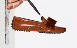 tods, dellacqua, tods factory, shoe collaboration