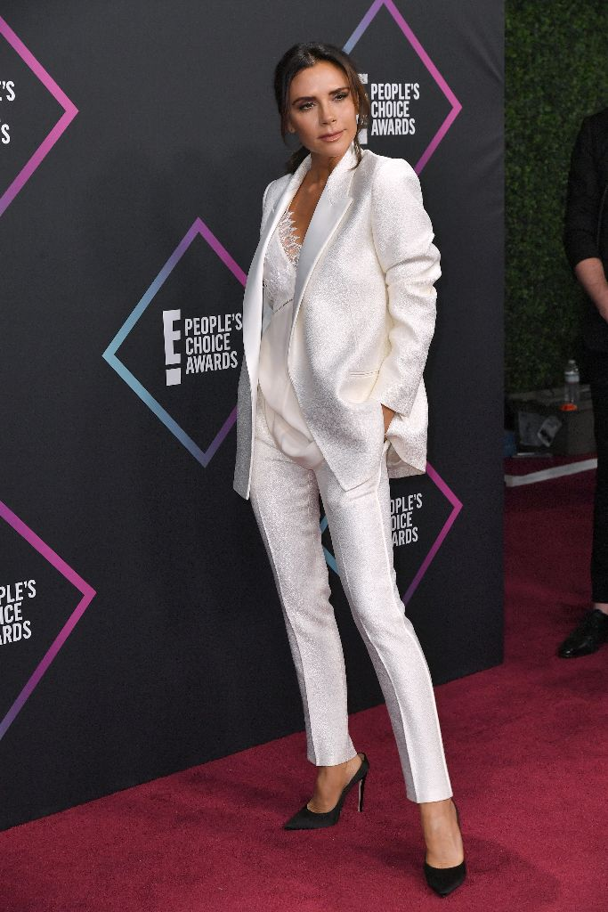Victoria Beckham at the People's Choice Awards on Sunday.