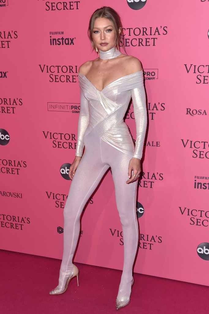 gigi hadid, victoria's secret fashion show, after party