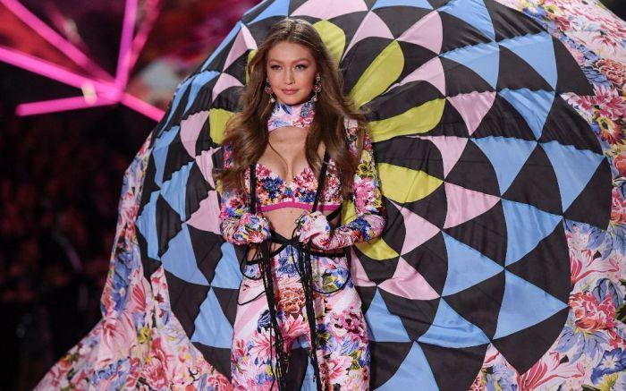 gigi hadid victoria's secret fashion show 2018