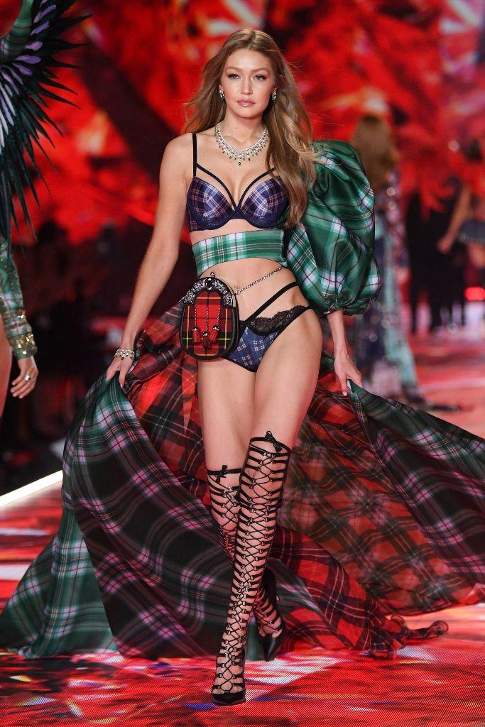 victoria's secret fashion show, gigi hadid, runway