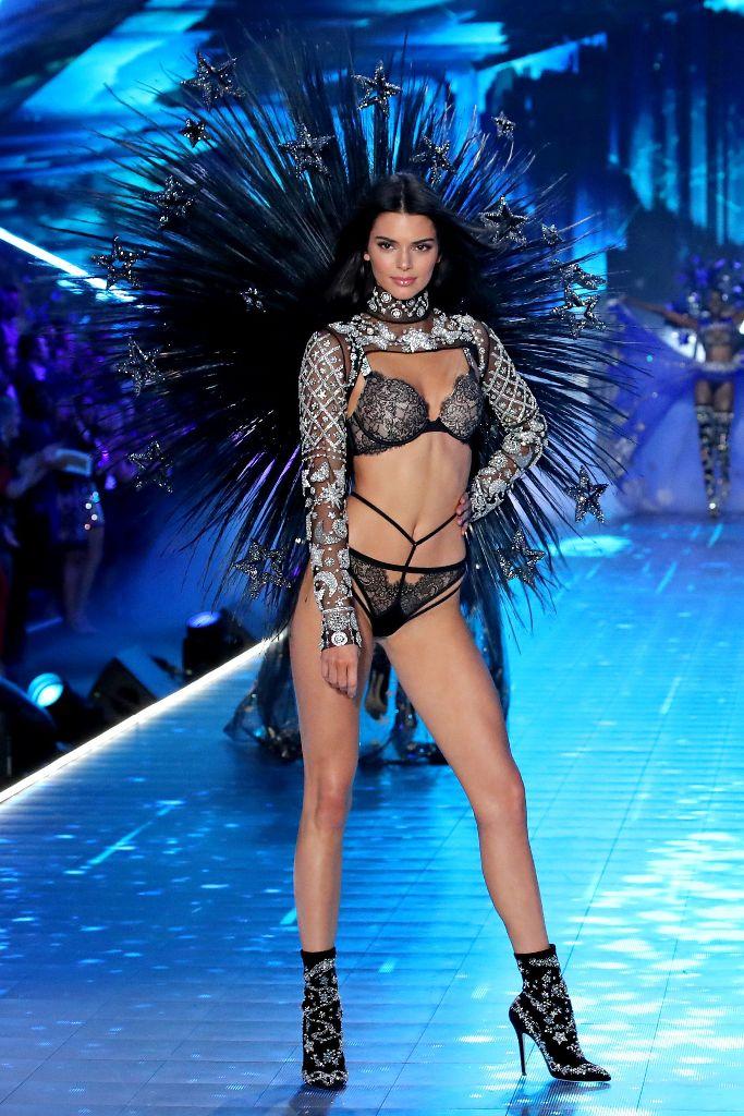 Kendall Jenner Victoria's Secret Runway