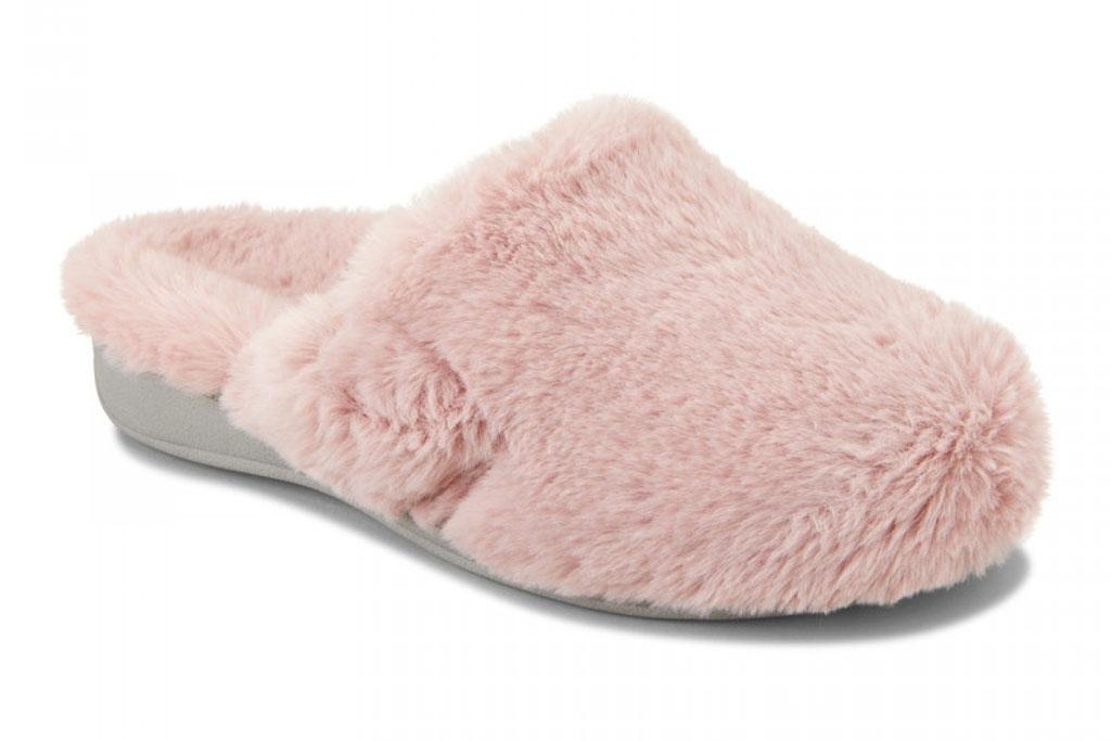 Vionic Gemma plush slipper.