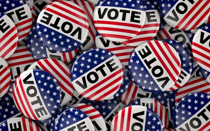 Vote Election Pins