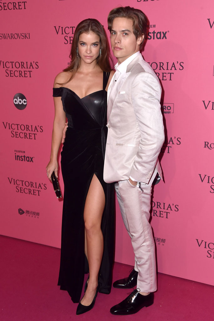 Barbara Palvin and Dylan Sprouse, vsfs, victoria's secret fashion show