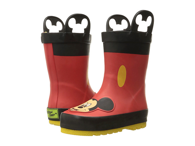 Western Chief Kids' Mickey Mouse Rain Boots
