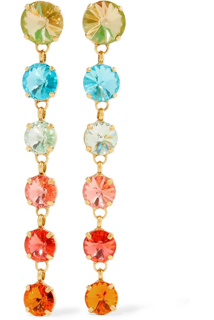 roxanne assoulin earrings holiday 2018 dressing accessories