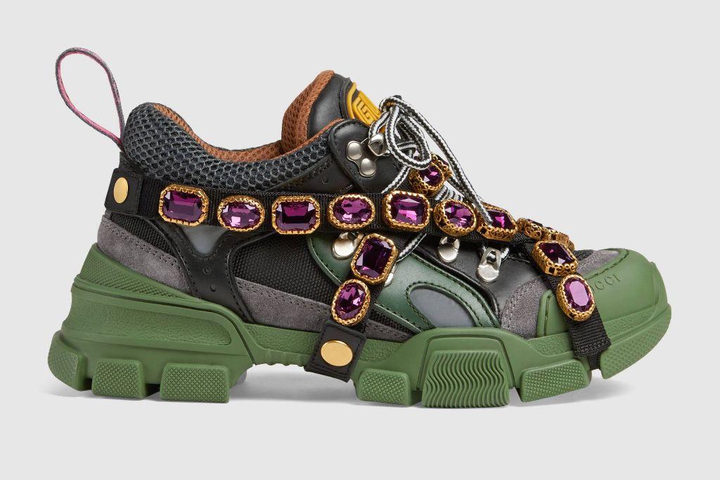 gucci-flashtrek-top-10-shoe-trends-2018