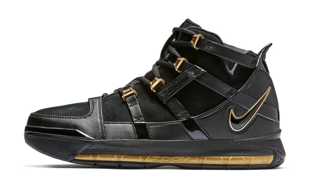 Nike Zoom LeBron 3 'Metallic Gold'