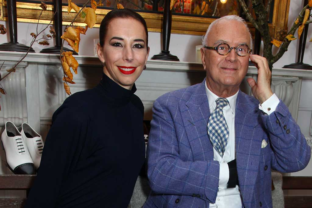 Kristina Blahnik and Manolo Blahnik