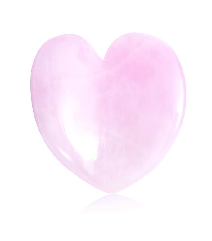 kora rose quartz heart