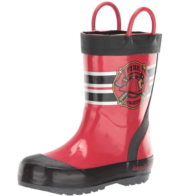 kamik fireman rain boot