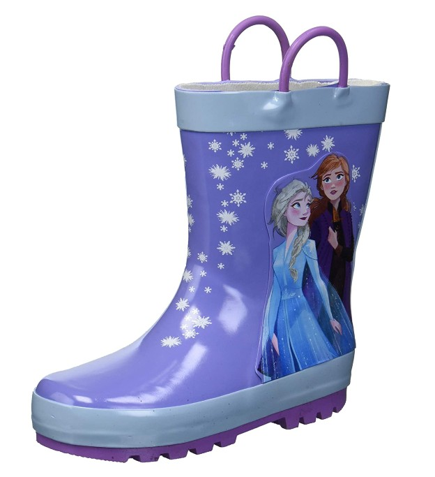 frozen rain boot