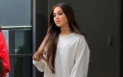 Ariana Grande, pantless, new york fashion,