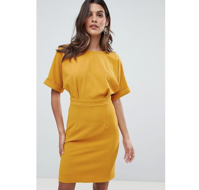 Asos Design Mini Wiggle Dress Meghan Markle