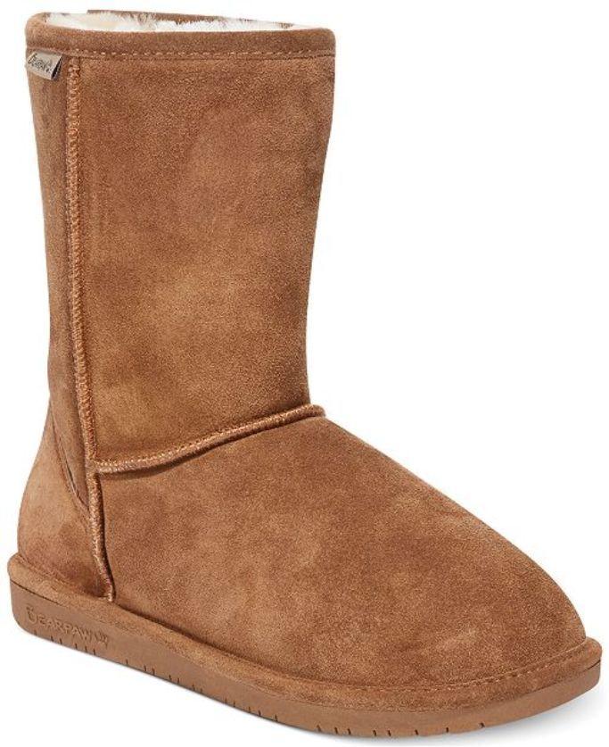 Bearpaw Short Wide Calf Boot