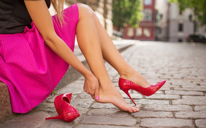 best heels for foot type flat feet wide feet