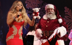 Celebrities With Santa Claus